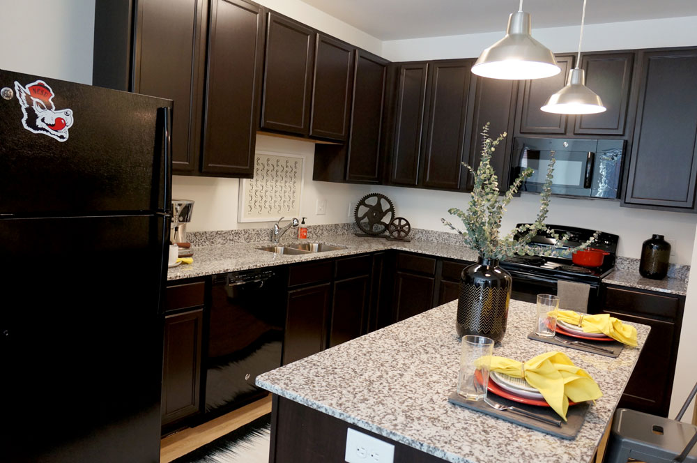 Stanhope Student Apartments Kitchen