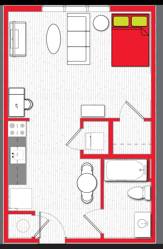 Stanhope Apartments floor plan s5