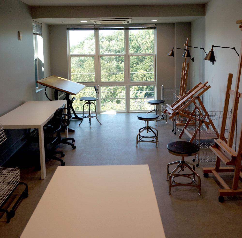 Stanhope Student Apartments Art Studio