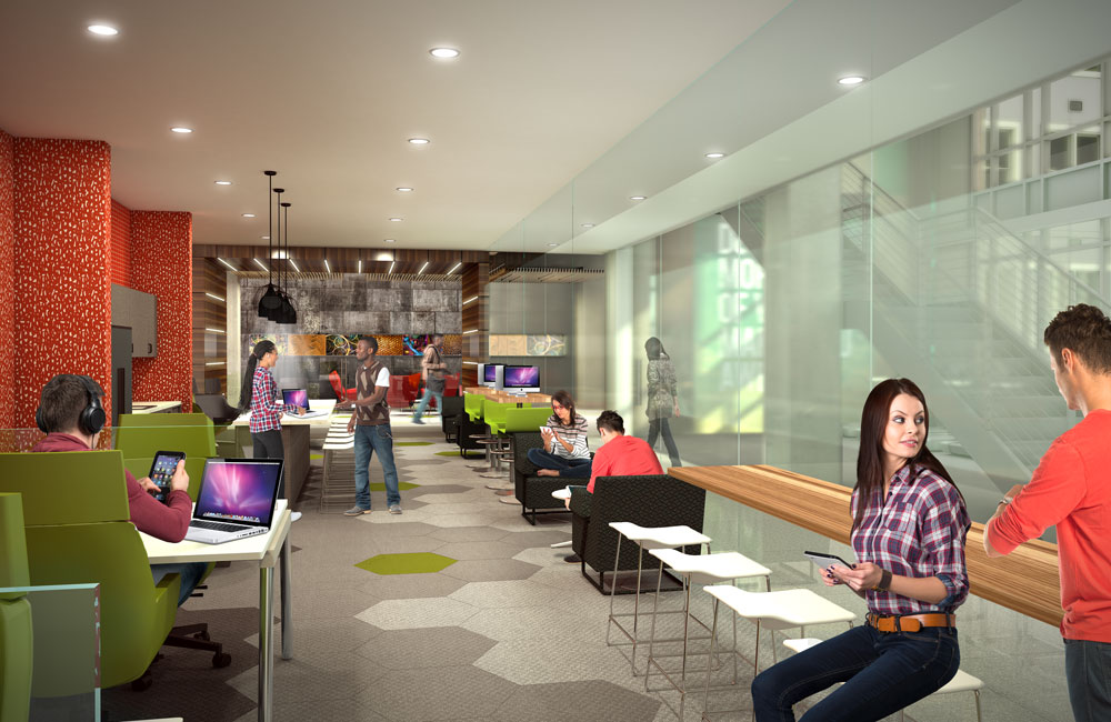stanhope student apartments cyber cafe