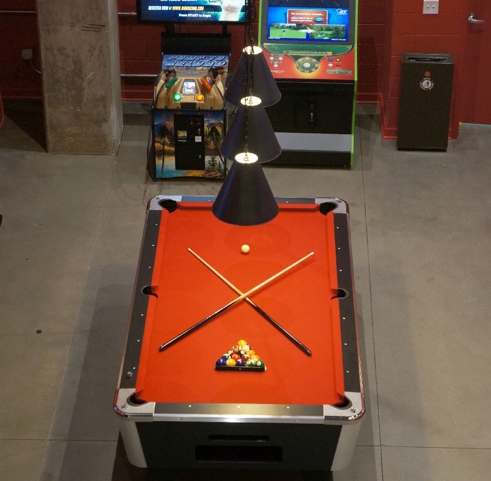 Stanhope Student Apartments Game Room