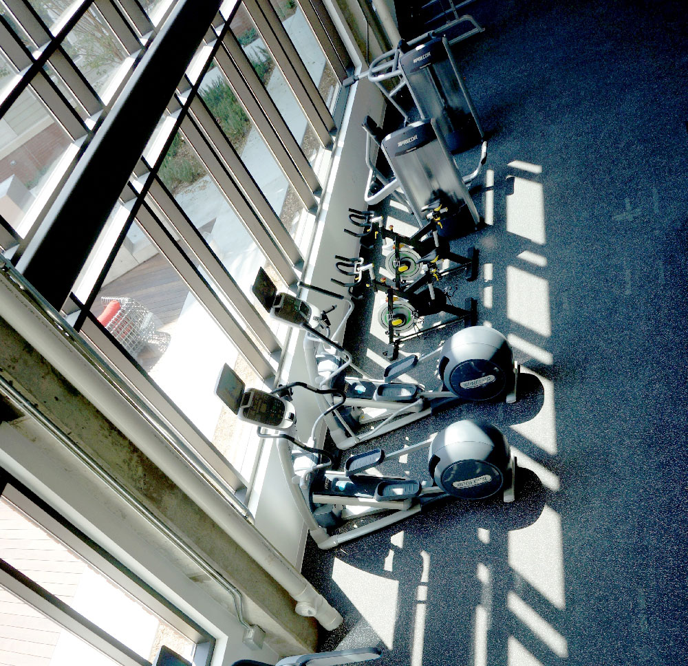 Stanhope Student Apartments Gym