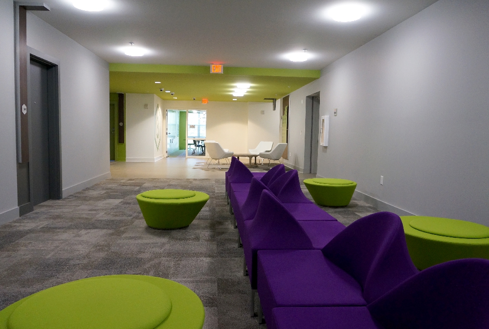 Stanhope Student Apartments lounge