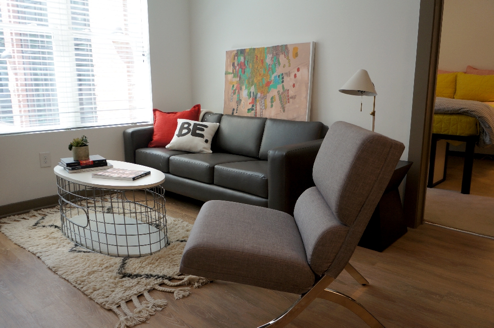 stanhope student apartments living room