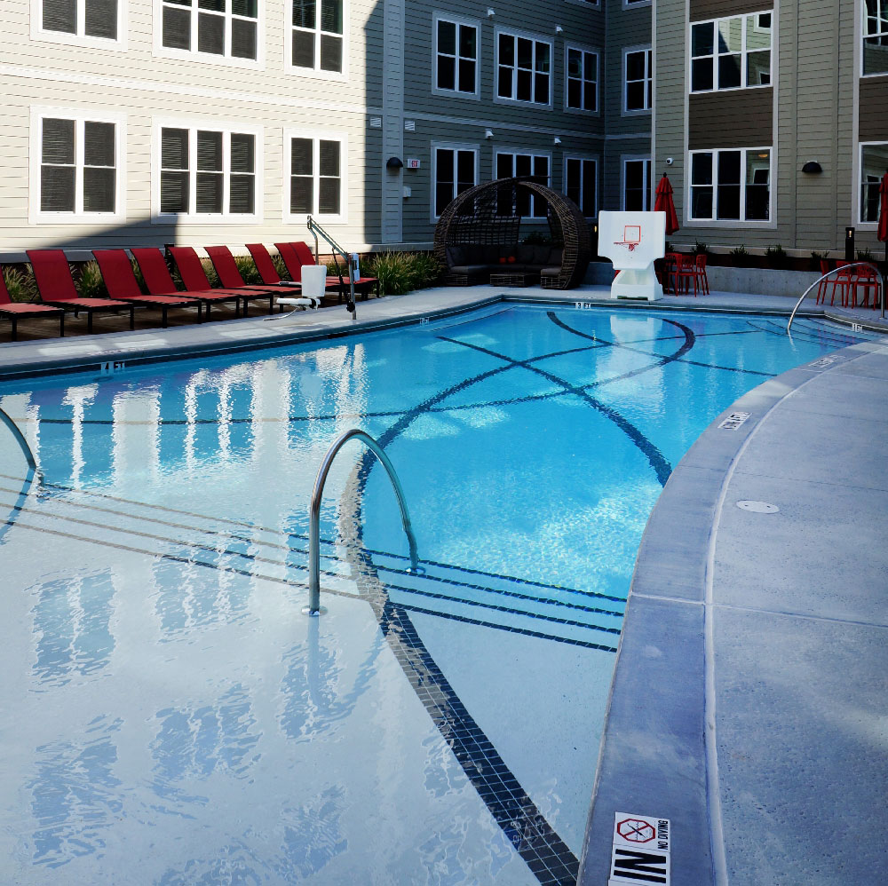 Stanhope Student Apartments Pool