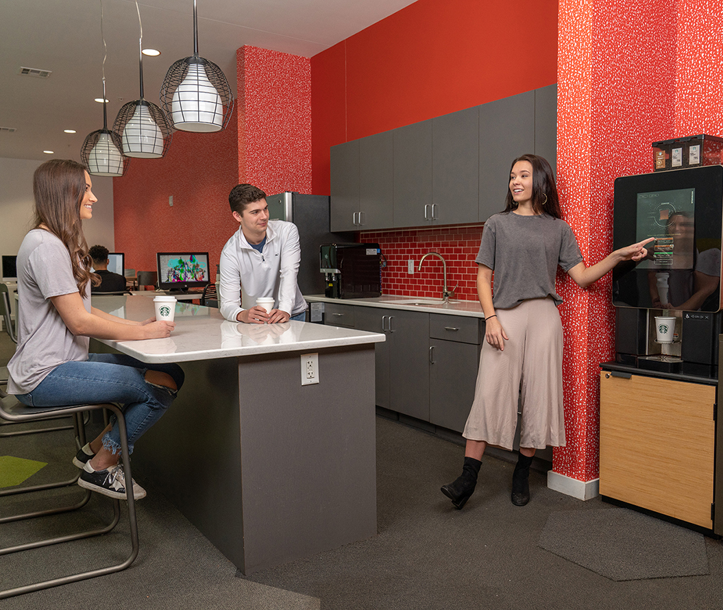 Stanhope Student Apartments - Cyber Cafe