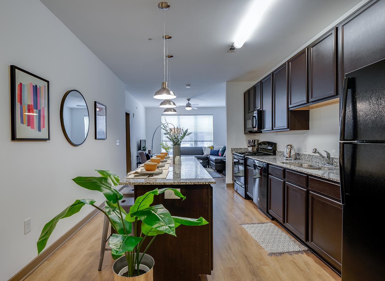 Stanhope Student Apartments - Kitchen