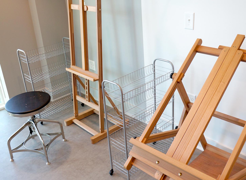 Stanhope Student Apartments - art studio