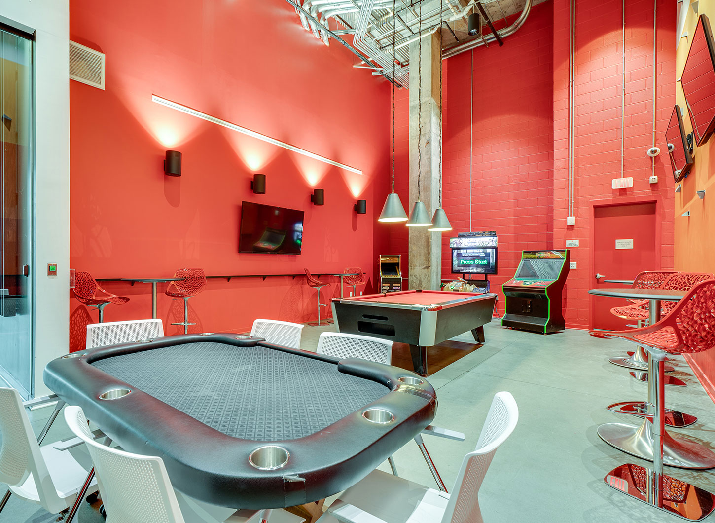 Stanhope Apartments game room